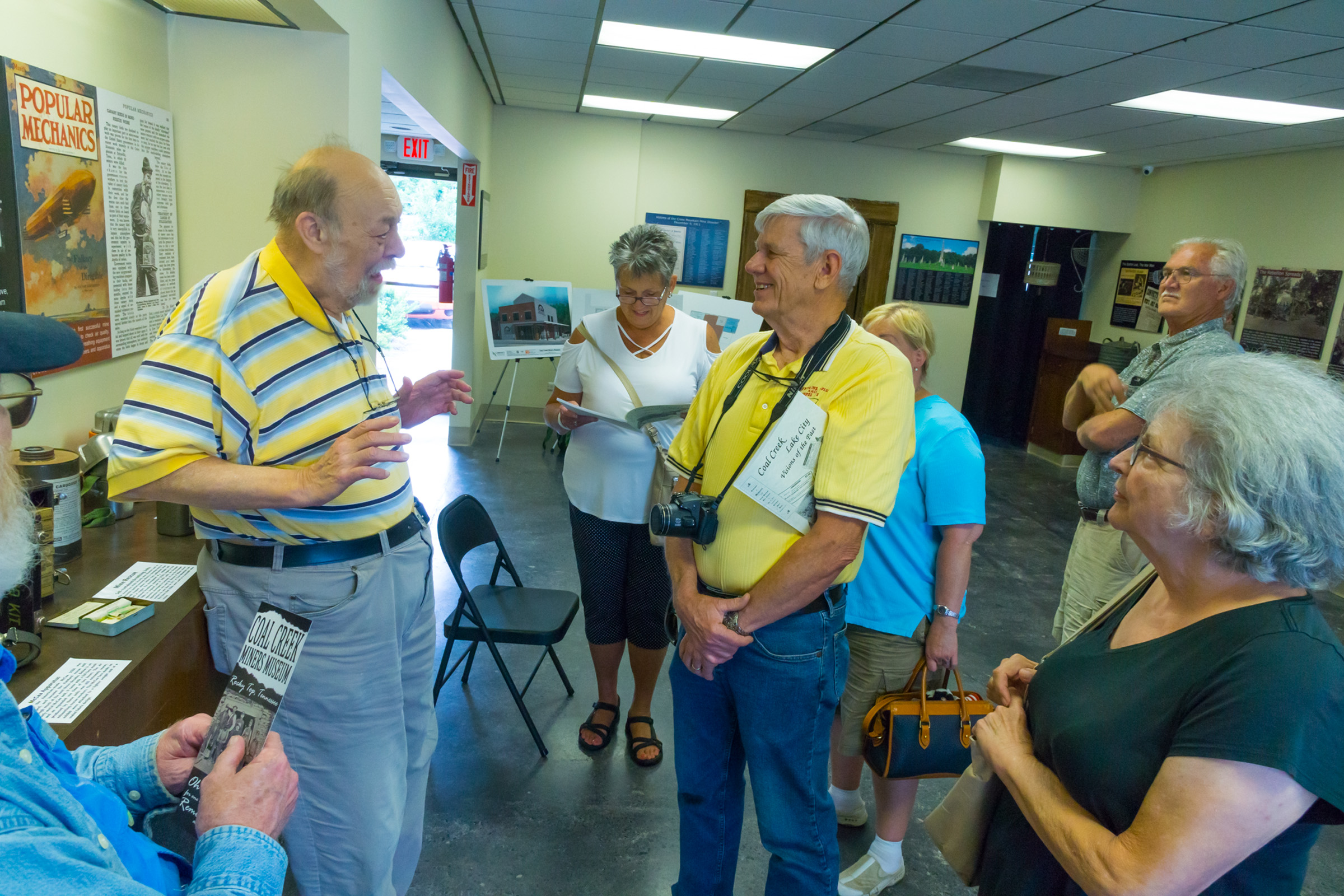 The Smoky Mountain Model A Club paid a visit to the Coal Creek Miners Museum in the town of Rocky Top, TN.