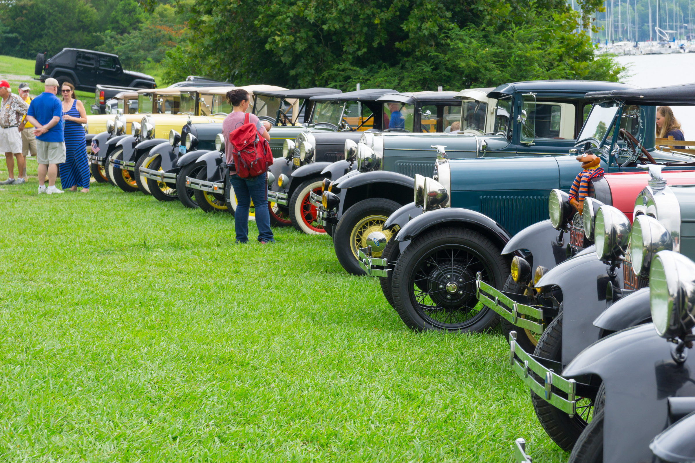 2016 Smoky Mountain Model A Club picnic